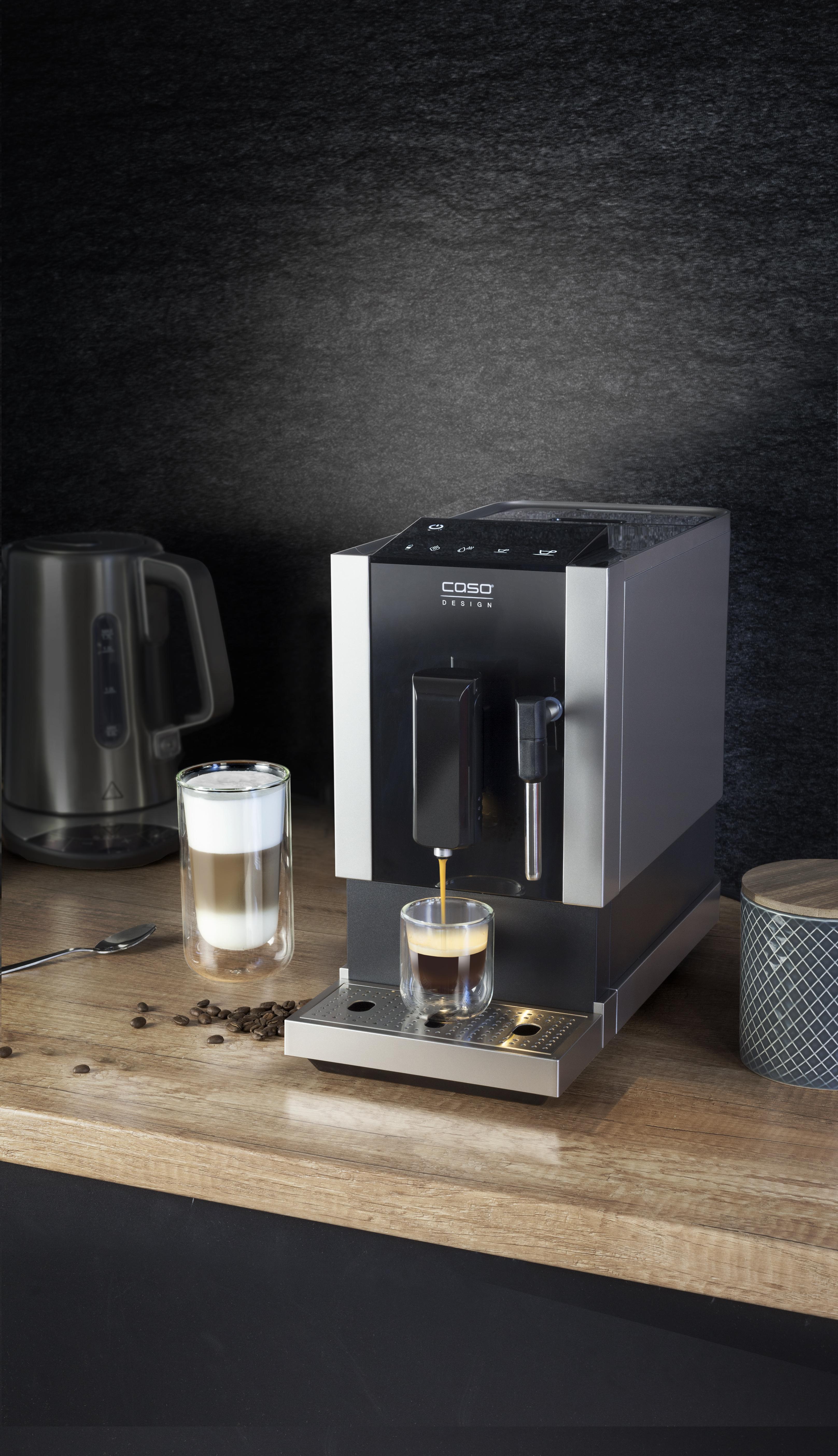 design fully automatic coffee machine caso caf crema one. Black Bedroom Furniture Sets. Home Design Ideas