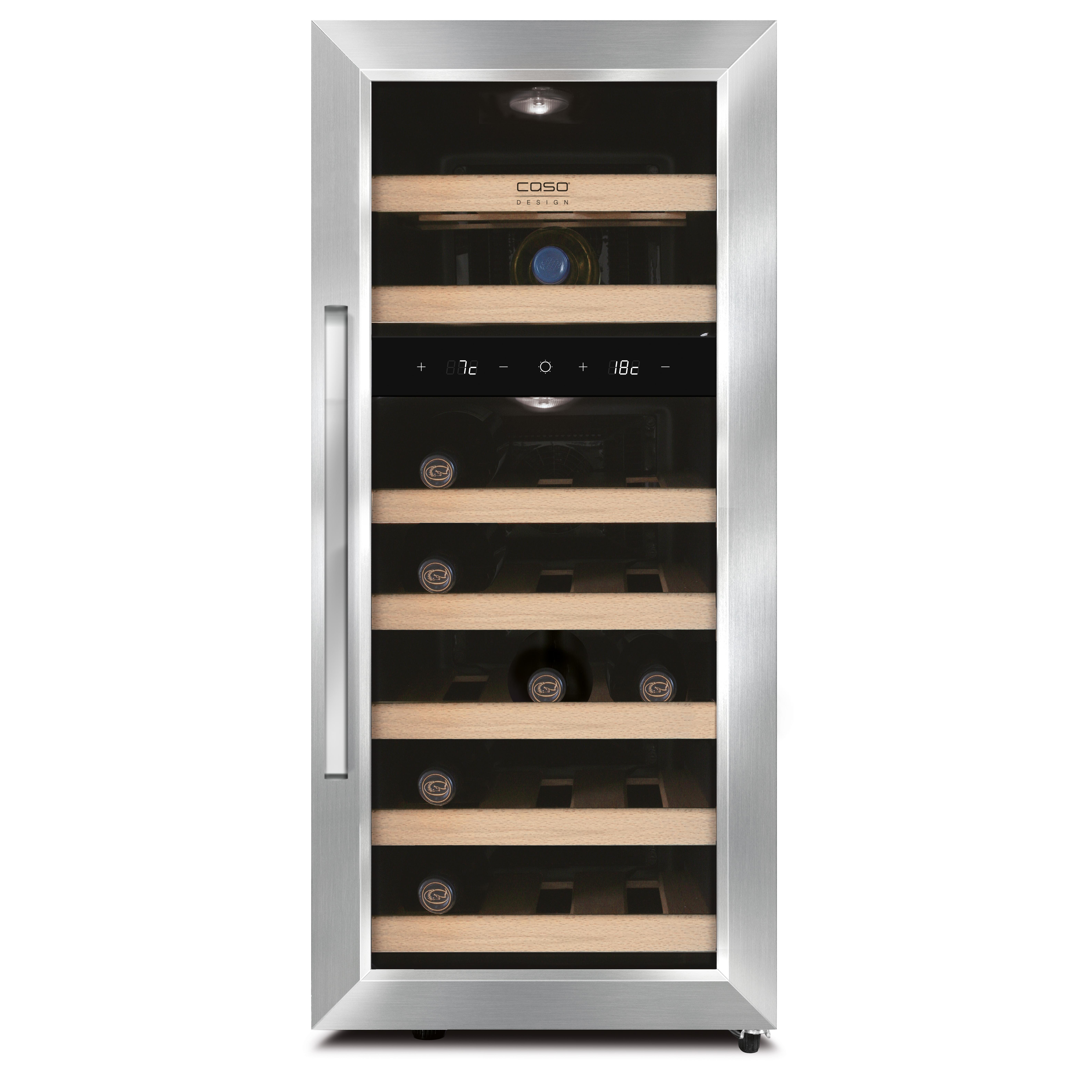 Design Weinkuhlschrank Mit Zwei Temperaturzonen Peltiertechnik
