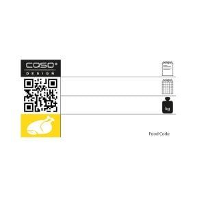 CASO Food Manager Sticker PRO - Kategorie Geflügel