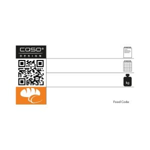 CASO Food Manager Sticker PRO - Category pastry/bread