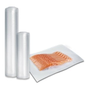 CASO foil set 1 for vacuuming + Sous Vide Cooking 20x30 cm, 20x600 cm, 30x600 cm