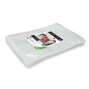 CASO seal bag 30x40 cm, 100 units Sealed edge bags - Extra and only suitable for chamber vacuumisers