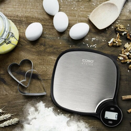 CASO Kitchen EcoMaster Highly accurate, environment-friendly kitchen weighing scales
