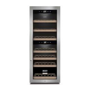 CASO WinePremium 38 Smart - BEEF!®-Edition Design Weinkühlschrank für bis zu 38 Flaschen