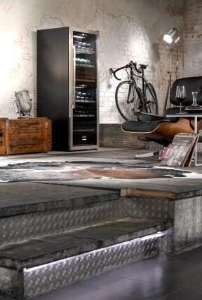 CASO WinePremium 126 Smart - BEEF!®-Edition Design Weinkühlschrank für bis zu 126 Flaschen