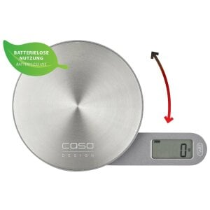 CASO Kitchen EcoMate Highly accurate, environment-friendly kitchen weighing scales