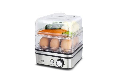 CASO ED 10 Eierkocher & Dampfgarer für 8 Eier
