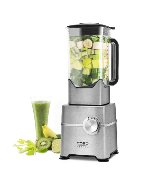 CASO B 2000 - High Speed Smoothie Blender Leistungsstarker High Speed Standmixer mit bis zu 32.000 Umdrehungen/Minute