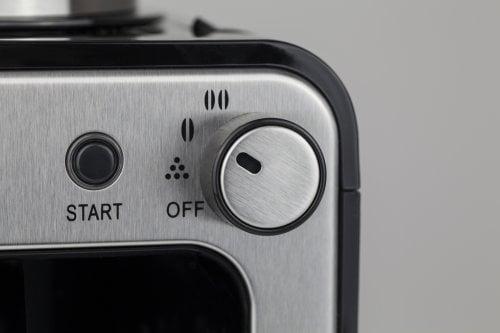 CASO Coffee Compact Design-Kaffeemaschine mit Mahlwerk