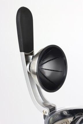 CASO CP 200 Kraftvolle elektrische Design-Zitruspresse mit Edelstahlgehäuse