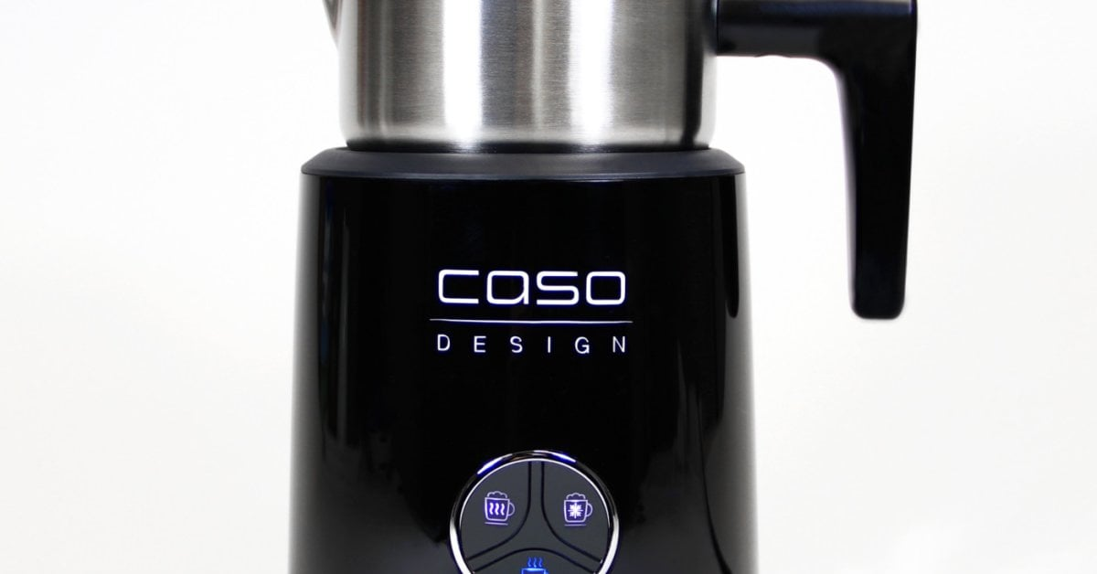 Design Milk Frother With Induction Caso Crema Latte