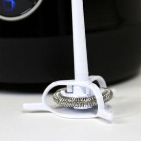 CASO Crema Latte & Choco Design Milchaufschäumer für cremigen Milchschaum (kalt & heiß)