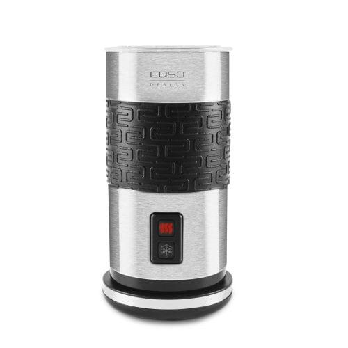 CASO Fomini Crema Inox Design Milchaufschäumer für cremigen Milchschaum (kalt & heiß)