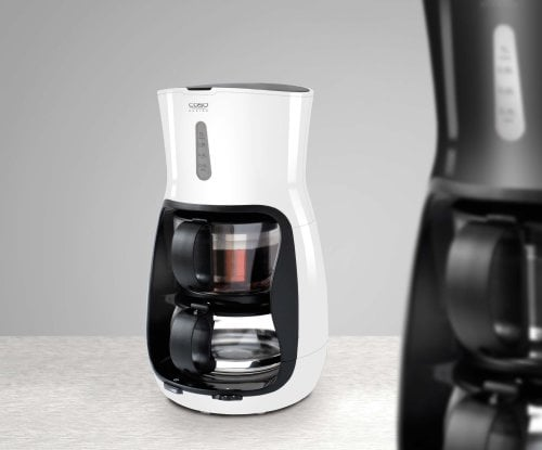 CASO TeeGourmet (black) Full automatic - With glass teapot