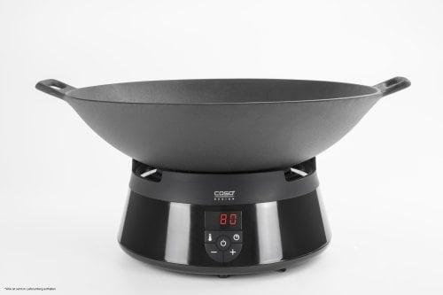 CASO Induktions-FonDue schwarz Fondue und Tischkochfeld mit Induktionstechnik. Garantiert gleichmäßiges und schnelles Erwärmen –ideal für Öl- und Käsefondue