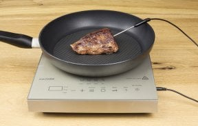 CASO TC 2100 Thermo Control Mobile single induction hob - with Thermo Control thermometer