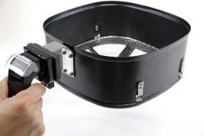 CASO AF 400 - Heißluftfritteuse Heißluft Fritteuse, Füllmenge 3,2 Liter