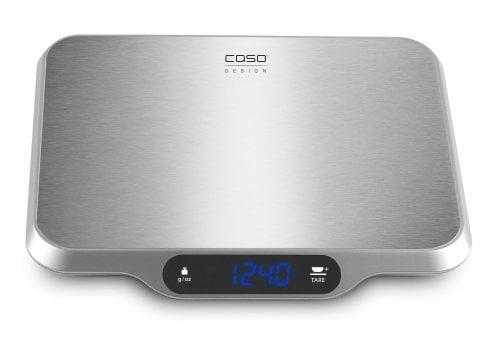 CASO L 15 Design-Küchenwaage mit großer Wiegefläche