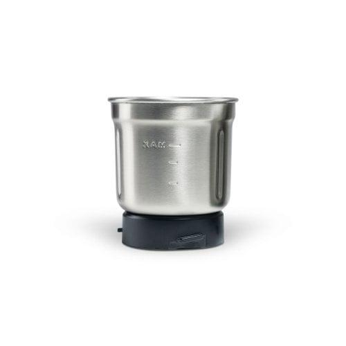 CASO Coffee & Kitchen Flavour - elektr. Mühle Elektrische Kaffeemühle mit Edelstahlbecher mit 2-fach Messer, geeignet zum Mahlen und Zerkleinern von Kaffee