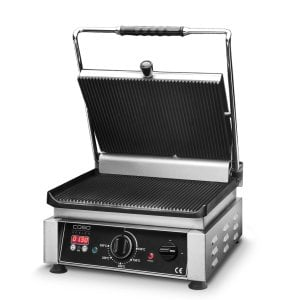 CASO Profi Gourmet Grill Double contact grill incl. digital timer