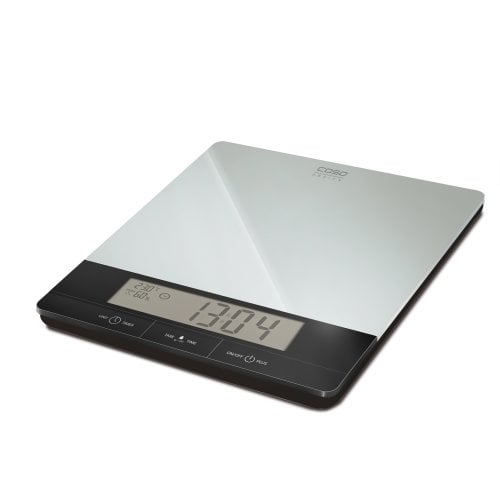 CASO I 10 Design kitchen scale - Air-condition indicator - Clock