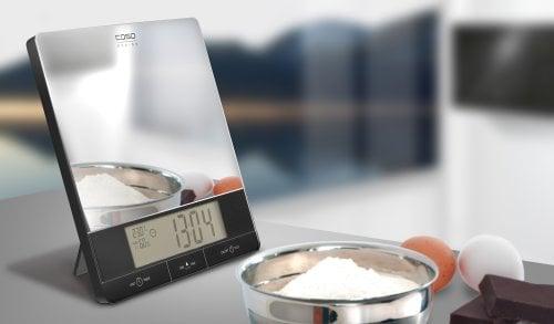 CASO I 10 Design-Küchenwaage mit Klimastation