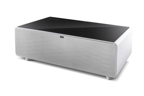 CASO Lounge-Tisch Sound & Cool Kombination aus Soundbar, Speisekammerfächer und Lounge-Tisch