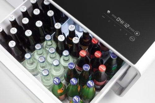 CASO Lounge-Tisch Sound & Cool Kombination aus Soundbar, Getränkekühler und Lounge-Tisch