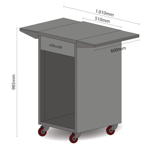 CASO Barbecue Cooler  With removable side panels