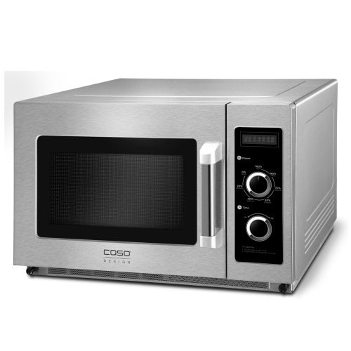 CASO C1800M Commercial microwave with ceramic floor