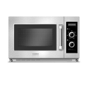 CASO C2100M Professional microwave with ceramic floor