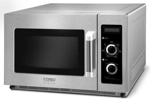 CASO C2100M Professionelle Mikrowelle mit Keramikboden