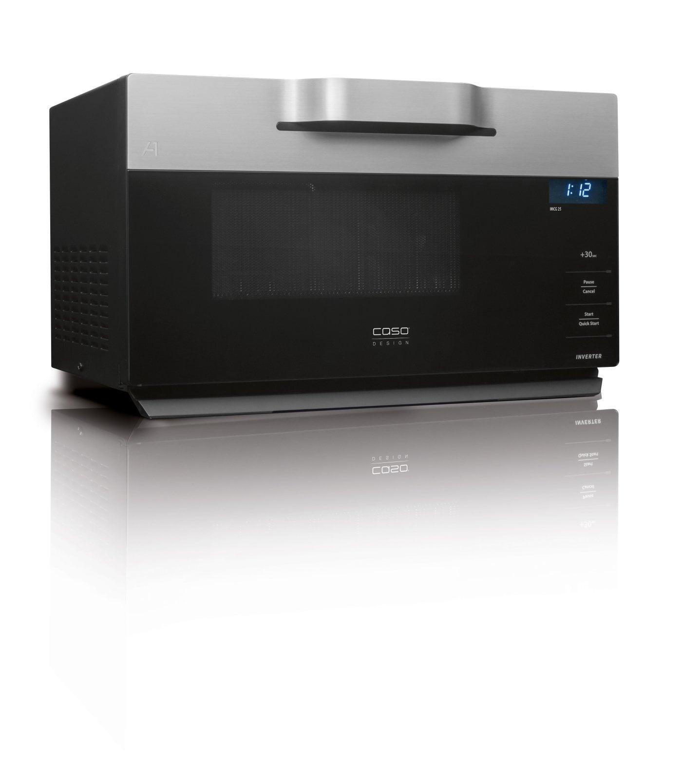 CASO IMCG 25 Inverter Mikrowelle + Heißluft + Grill