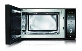 CASO MCG 25 chef black Mikrowelle + Heißluft + Grill