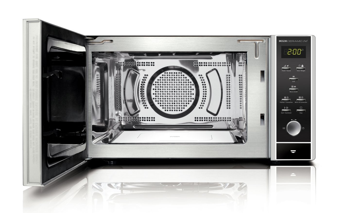 CASO MCG30 Ceramic Chef Design Mikrowelle U0026 Heißluft U0026 Grill