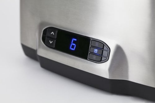 CASO Inox² Design toaster - for two slices