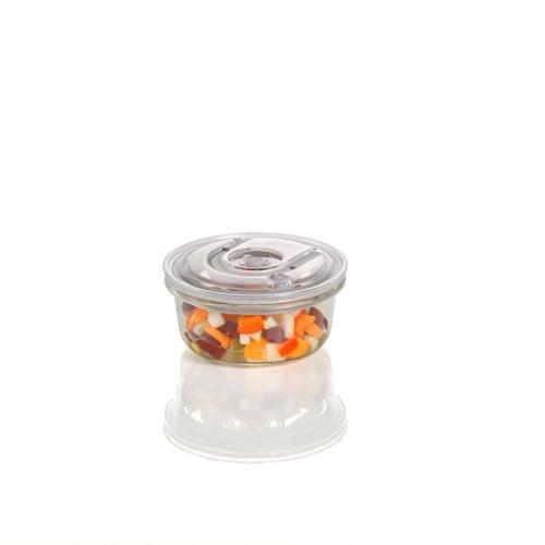 CASO VacuBoxx RS - 370 ml Design Vakuumbehälter aus Glas mit Tritan Deckel