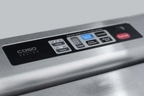 CASO FastVAC 1000 Professionelles Edelstahl-Vakuumsystem zum Vakuumieren Ihrer Lebensmittel
