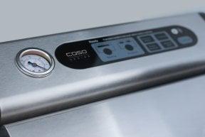 CASO FastVAC 1200 Professionelles Edelstahl-Vakuumsystem zum Vakuumieren Ihrer Lebensmittel: Natürliches Aufbewahren ohne Konservierungsstoffe