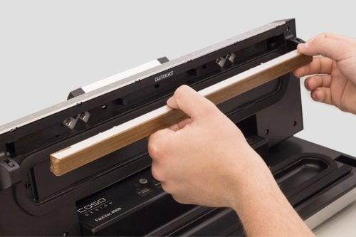 CASO FastVac 4008 Professionelles Vakuumsystem mit austauschbarem Schweißbalken