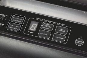 CASO FastVAC 500 Professionelles Edelstahl-Vakuumsystem zum Vakuumieren Ihrer Lebensmittel