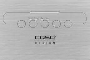 CASO TouchVAC vollautomatisches Vakuumiersystem zum Vakuumieren Ihrer Lebensmittel
