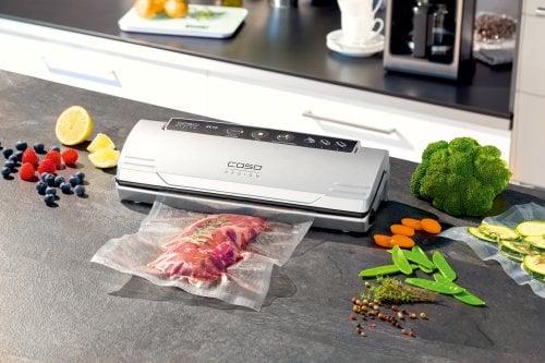 CASO VC 10 vollautomatisches Vakuumiersystem zum Vakuumieren Ihrer Lebensmittel