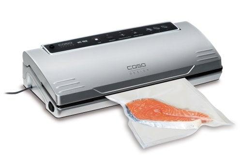 CASO VC 100 vollautomatisches Vakuumiersystem zum Vakuumieren Ihrer Lebensmittel