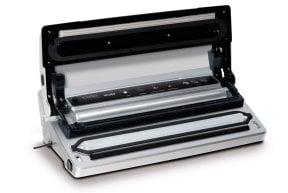 CASO VC 200 mit Box vollautomatisches Vakuumiersystem zum Vakuumieren Ihrer Lebensmittel