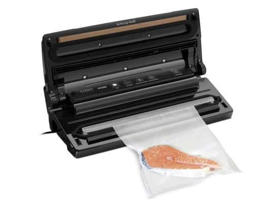 CASO VC 250 Fully automatic vacuum sealer - High quality stainless steel housing