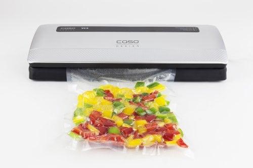 CASO VC 9 Vollautomatisches Vakuumiersystem zum Vakuumieren Ihrer Lebensmittel