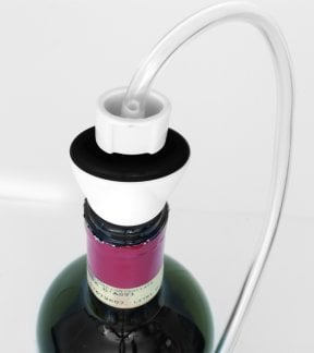 Vacuum Wine Stoppers 2 Stoppers - Vacuum hose