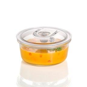CASO VacuBoxx RL - 940 ml Design Vakuumbehälter aus Glas mit Tritan Deckel
