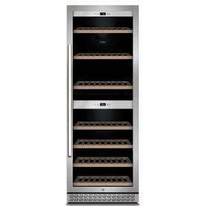 CASO WineChef Pro 126 Hochwertiger Weinkühlschrank mit Kompressortechnik